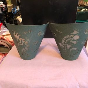 PartyLite Tribe wall sconces